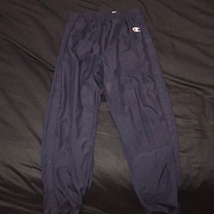 Retro Champion tear away pants